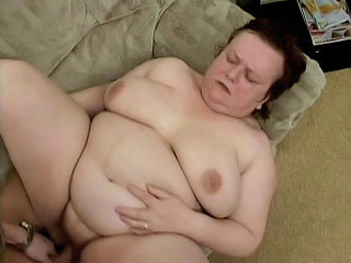 Miranda Takes a swallowing his cock Balls Deep