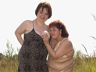 Fat Mature Lesbians everlasting At It