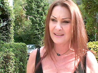 spunk fountain Mature Redhead Gets Nasty