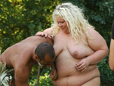 obese Mature Blonde Poked